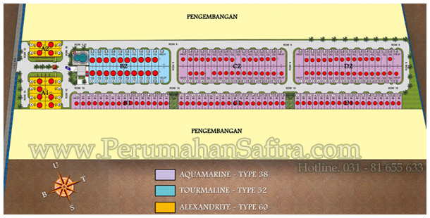 SITE PLAN SAFIRA STONE RESORT 020314