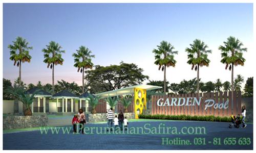 Pool garden perumahan safira for Garden pool doomsday preppers