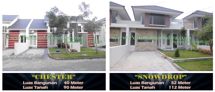 desain rumah di king safira residence