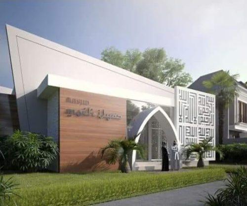 masjid di puri safira regency
