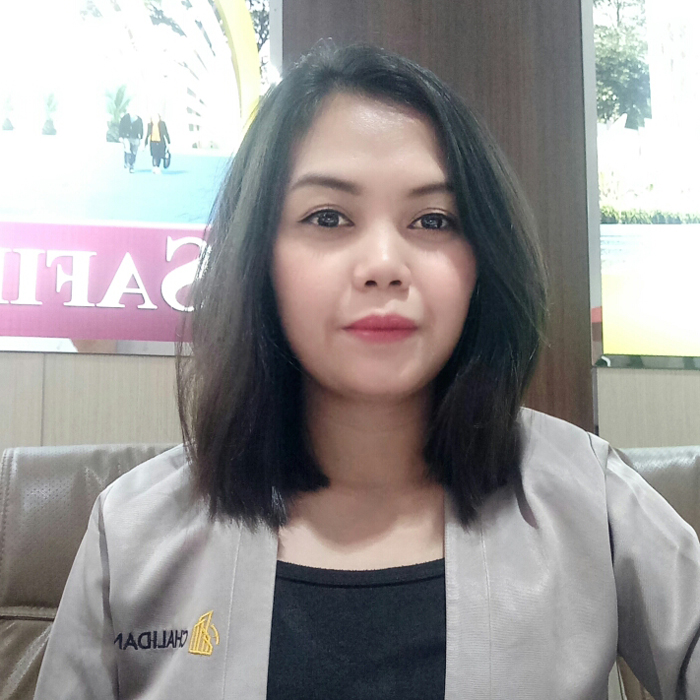 Mbak Wulan Marketing Inhouse Perumahan Safira Chalidana Group