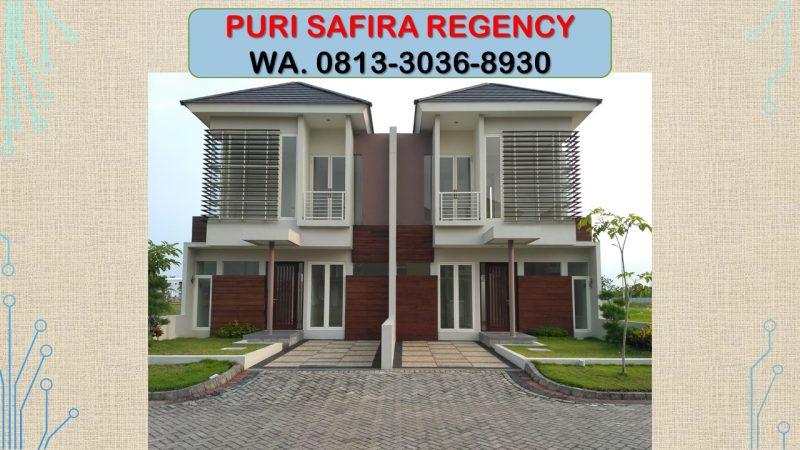KPR MUDAH!!!, WA 0813-3036-8930, Puri Safira Regency Sidoarjo dan Menganti